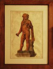 EROS - CUPIDO - XVII° sec.  Bloemaert Cornelis - Incisione Originale