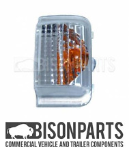 *FIAT DUCATO 2006 ON WING / DOOR MIRROR INDICATOR AMBER LENS LH / NS CIT015 x1