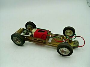 REVELL MONOGRAM 1/32 SLOT CAR CHASSIS COMPLETE RUNNER NO Body included Clean