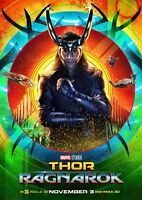 Art Print Poster / Canvas Thor Ragnarok Movie Tom Hiddleston Loki 2017