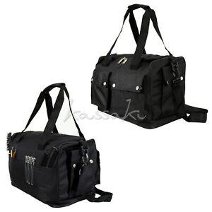 Kassaki Hairdressing Session Bag Large Soft Kit Bag Salon Storage Scissor Case