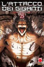 L'Attacco dei Giganti N° 25 - Planet Manga - ITALIANO NUOVO #NSF3