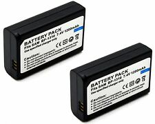 2x Battery Pack for Samsung NX-10 NX-11 NX-20 NX-100 NX-5 EV-NX100ZBABCN BP1310