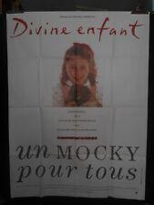 AFFICHE originale grand format ( 120 x 160 ) DIVINE ENFANT par J P Mocky