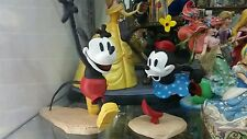 4051311 MICKEY & MINNIE MAQUETTE COLOR VERS TOPOLINO ENESCO DISNEY ARCHIVES