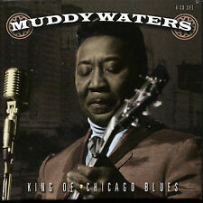 Muddy Waters: King Of Chicago Blues~1941-1955~BRAND NEW PROPER 4 CD Box Set