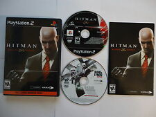Hitman : Blood Money + Bonus Disc Playstation 2 PS2  Near Mint Condition CIB *