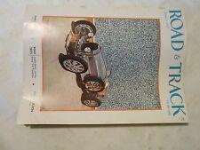 JANUARY 1957 ROAD &  TRACK MAGAZINE,AUSTIN HEALY 100SIX,SIMCA V-8 VERSAILES,PARI