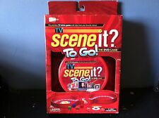 TV Scene it? To Go! The DVD Game Trivia Travel Compact Portable Case *New*