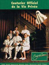 PUBLICITE ADVERTISING  1993   COUP DE COEUR   pyjama chemise de nuit