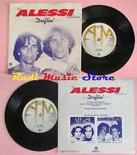 LP 45 7'' THE ALESSI BROTHERS Driftin Just can't stop it 1978 A&M 7372 cd mc dvd
