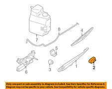 NISSAN OEM Wiper Washer-Liftgate Tailgate Hatch-Wiper Arm Cover 287827S000