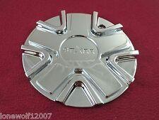 Starr Alloy Wheels Chrome Custom Wheel Center Cap # 121S186-S / 121CAP-F (1)