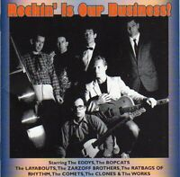 Rockin' Is Our Business. Rockabilly. CD. New. Canetoad Records.