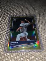 2020 Panini Donruss Optic Masahiro Tanaka Gold Prizm 05/10 New York Yankees SP