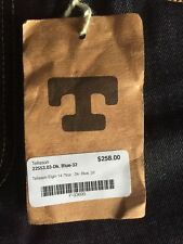 Originally $258 Tellason Elgin Mid Rise Slim Tapered 14.75oz 32Inch New With Tag