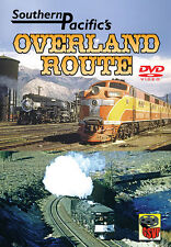 Southern Pacific's Overland Route DVD NEW Greg Scholl Bay Area steam Cab Forward