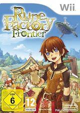 Nintendo Wii Spiel ***** Rune Factory Frontier Harvest Moon *************NEU*NEW