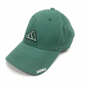 Vintage Adidas Baseball Hat Cap Adjustable Embroidered Logo Spell Out Youth