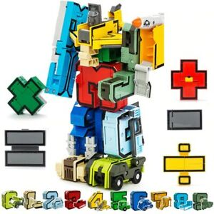 Educational Learning For Age 3 4 5 6 7 8 Year Old Transformation Numbers Robots