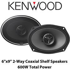 """Kenwood KFC-X694 - 6"""" x 9"""" 2 Way Car Coaxial Shelf Speakers 600W Total Power BN"""
