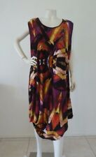 TS TAKING SHAPE Size M 20 Sleeveless Tunic Dress Multi Coloured