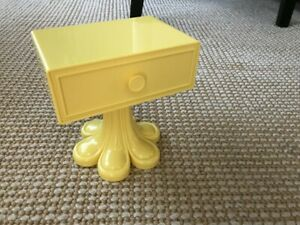 """American Girl Julie's side table nightstand for 18"""" doll NEW bedroom yellow"""