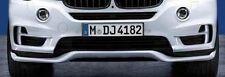 BMW Brand OEM Genuine F15 X5 2014+ Aerodynamic Front Bumper Spoiler NEW