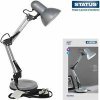 Status VALENCIA DESK LAMP Portable Angled Indoor HOME / Office Table Desk Light