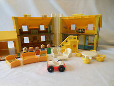 1969 Fisher Price Play Family House 952  no box complete masonite