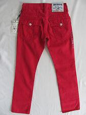 Mens True Religion Ruby Red Denim Straight Leg Jeans 28 X 34 | eBay