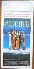 locandina playbill THE MODERNS RUDOLPH CARRADINE FIORENTINO CINEMA