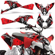 Decal Graphics Kit Polaris Outlaw 450/525 ATV Quad Wrap Parts Deco 09-12 REAP R