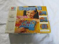 VINTAGE MB GAMES BOXED GAME SUPER 3 100% COMPLETE