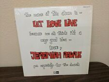 JEREMIAH PEOPLE Let Love Live LP Very Rare record worship music