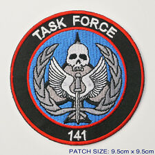 "CALL OF DUTY MODERN WARFARE ""Task Force 141"" Elite SAS Team Member Black Patch"