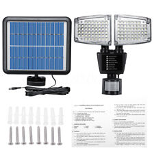 100 LED 800LM Solar Powered Wall Light PIR Motion Sensor Outdoor Security  PN1