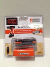 New Black & Decker GoPak-Battery and Charge Cable BCB001K - N509802