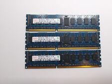 Hynix 6GB (3x2GB) PC3 10600R ECC Reg Server Ram HMT125R7TFR8C Tested Grade A