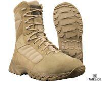 "Altama Footwear Men's Foxhound SR 8"" Boot - Tan, US 13 M"