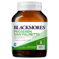 Blackmores Proseren Saw Palmetto 120 Capsules Supports Healthy Prostate Function