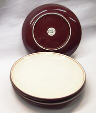 DENBY   red/cream  INTRO  DINNER PLATES