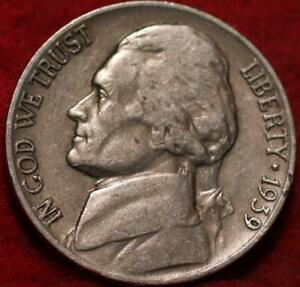 1939-D Denver Mint Jefferson Nickel Not Silver