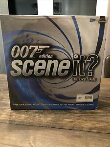007 James Bond Edition Scene it? The DVD Game Brand New Sealed Unopened