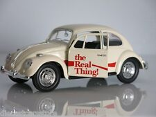 """1966 VOLKSWAGEN BEETLE """"COCA COLA"""" THE REAL THING 1/24 MOTORCITY CLASSICS 440047"""