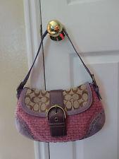 COACH Pink and Purple Women's Handbag {NICE} Satchel, Small Purse