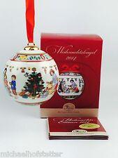 Hutschenreuther Porzellan Weihnachtskugel Kugel 2014 mit Originalverpackung NEU