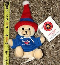 New Hard Rock Cafe Salt Lake City Closed Winter Games Herrington 2002 Mini Bear