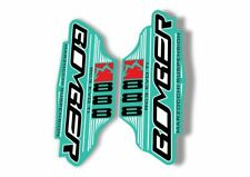 Custom set for Marzocchi 888 RCV SL ATA RC2X bomber stickers glossy laminated