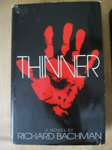 1984 Richard Bachman ( Stephen King ) THINNER First Edition Hardcover Book